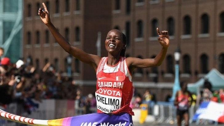Maratona ai Mondiali: E' oro per Rose Chelimo