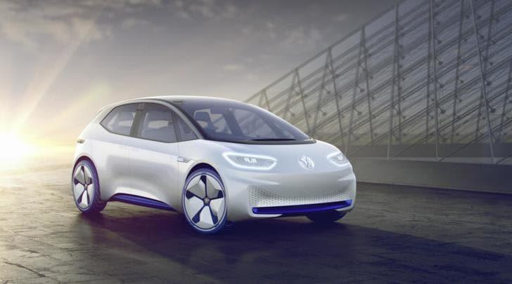 Euro 2020 vetrina della elettrica di massa Volkswagen