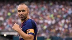 Real Madrid-Barcellona, Iniesta fuori dalla lista dei convocati