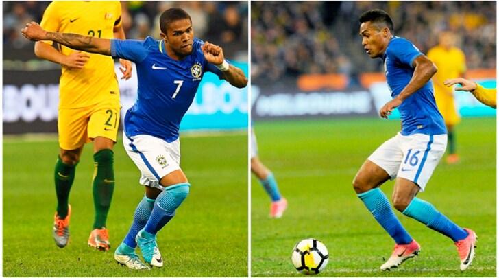 Il Brasile rinuncia a Douglas Costa e Alex Sandro, la Juventus ringrazia