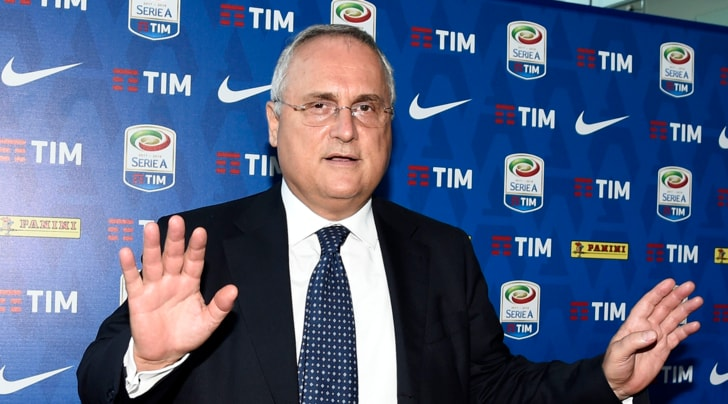 Lazio, Lotito: «Juventus feroce. Keita? Presto chiariremo»