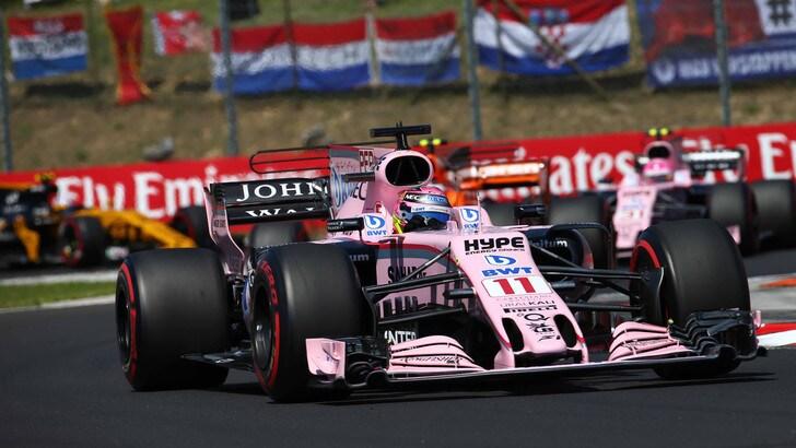 F1, Force India: «Al prossimo scontro Perez e Ocon a casa»