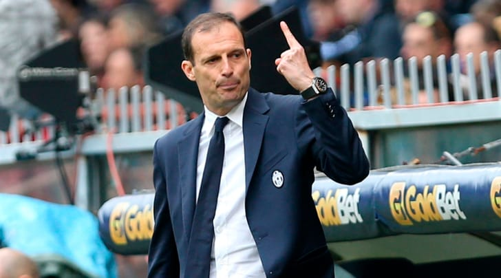 Allegri: «Dopo Cardiff voglio una Juventus rabbiosa»
