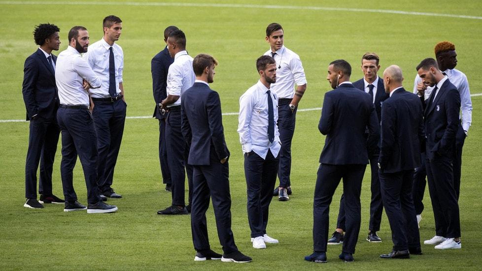<p>La squadra di Allegri &#39;assaggia&#39; il campo dove si contender&agrave; con la Lazio la Supercoppa italiana</p>