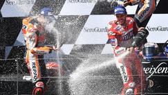 Austria; vince Dovizioso davanti a Marquez