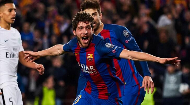 Juventus, dalla Spagna: «Sergi Roberto, futuro in bilico al Barcellona»