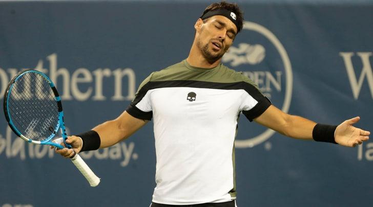 Tennis, Cincinnati: Lorenzi e Fognini eliminati
