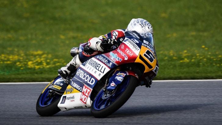 Moto3 Silverstone: Fenati vola nelle terze libere