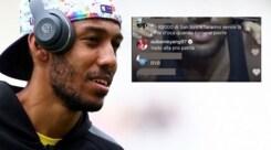 Aubameyang: «Il Milan? Vado a giocare nella Pro Patria»