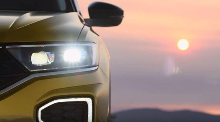 Volkswagen T-Roc, primo video del B-Suv