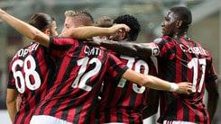 Europa League: Milan in discesa contro lo Shkendija