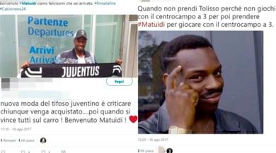 Juventus, i tifosi accolgono Matuidi sui social: ma non sono tutti contenti...