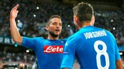 Champions League, Napoli-Nizza 2-0: decidono Mertens e Jorginho