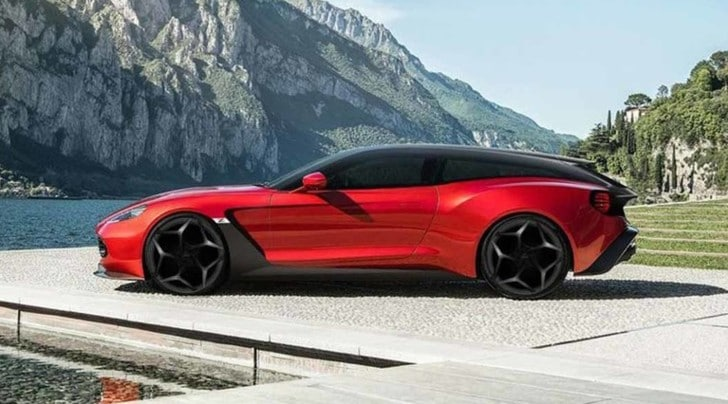 Aston Martin presenta Vanquish Zagato Speedster e Shooting Brake