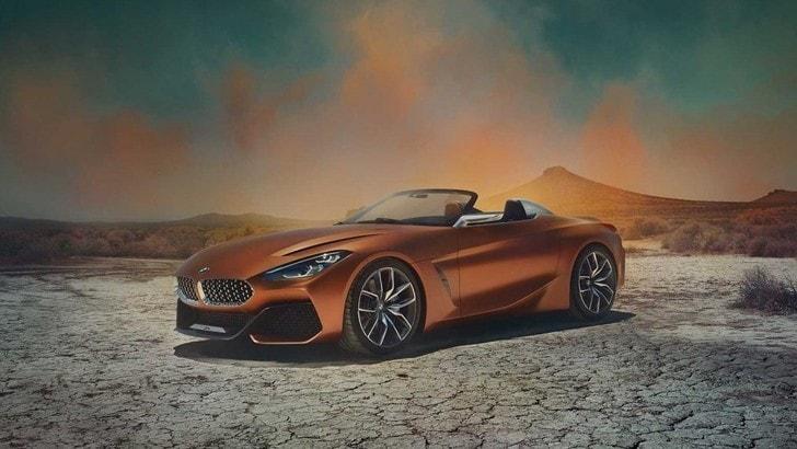 BMW Z4 Concept, la roadster è tornata