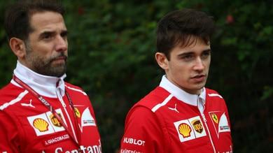 F1 Ferrari, Leclerc: «Non sento la pressione»