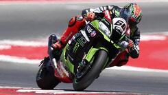 SBK, la Kawasaki vola nei test di Jerez