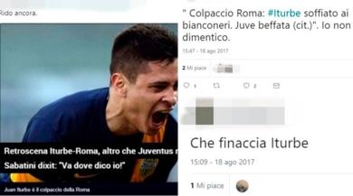 """Roma, Iturbe va in Messico: i tifosi della Juve ricordano la """"beffa"""""""