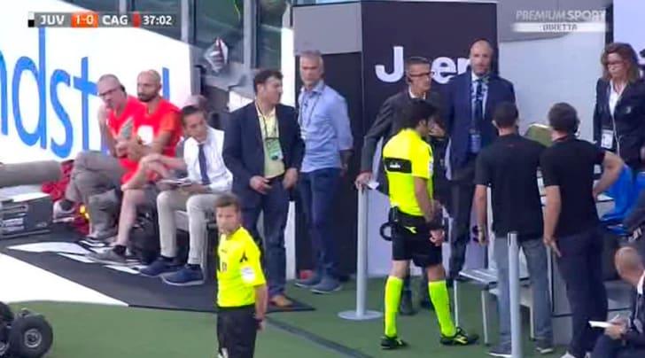 Serie A, per il Cagliari il primo rigore con il VAR: Buffon para