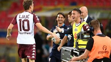 Ljajic è un... Torino. Ma l'arbitro va nel pallone: 1-1 a Bologna