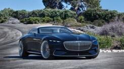 Mercedes Maybach Vision 6 Cabrio: transatlantico elettrico