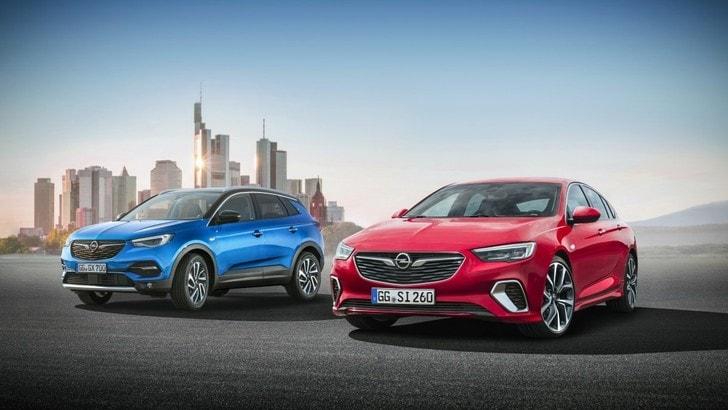 Opel al Salone di Francoforte con Grandland X e Insignia GSi