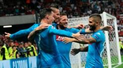 Nizza-Napoli 0-2: Sarri ritrova la Champions League