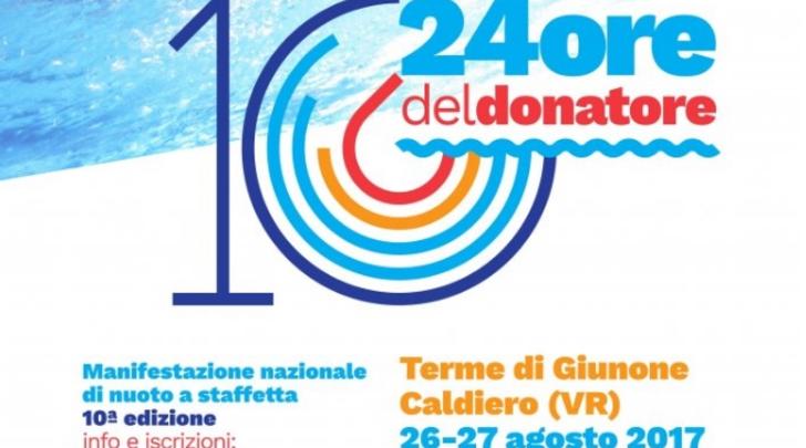 Verona, dieci candeline per la 24ore del donatore