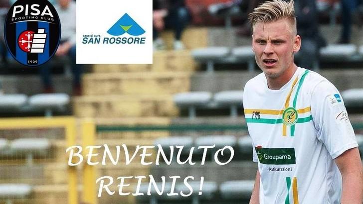 Calciomercato, Reinholds ha firmato con il Pisa