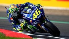 MotoGp, le immagini delle prove di Valentino Rossi