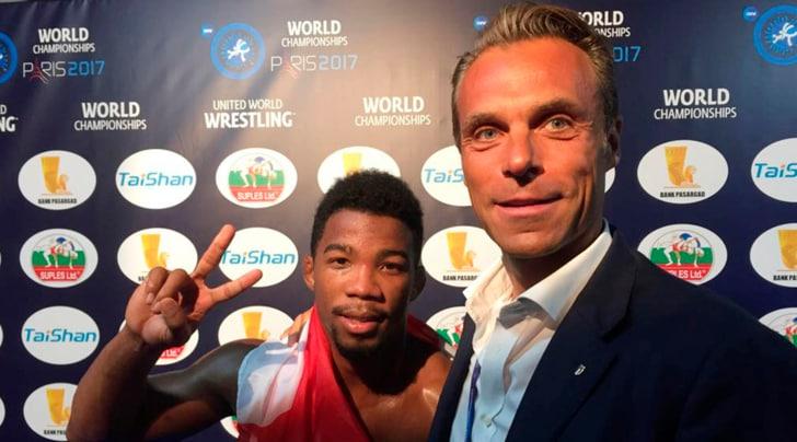 Lotta libera, Chamizo oro ai Mondiali nei 70 kg