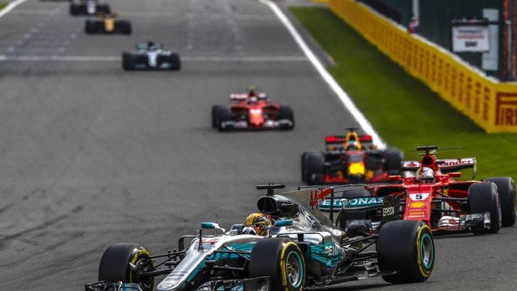 F1 Gp Spa: vince Hamilton, Vettel secondo