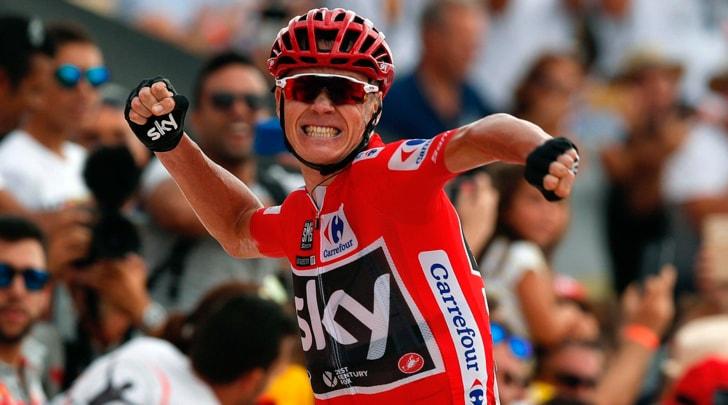 Vuelta, Chris Froome vince la nona tappa e si conferma leader