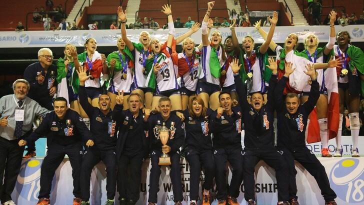 Italia Under 18 si conferma Campione del Mondo