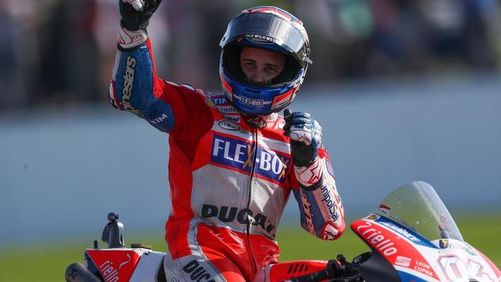 MotoGp Ducati, Domenicali: «Grinta Dovizioso, pazzesco!»