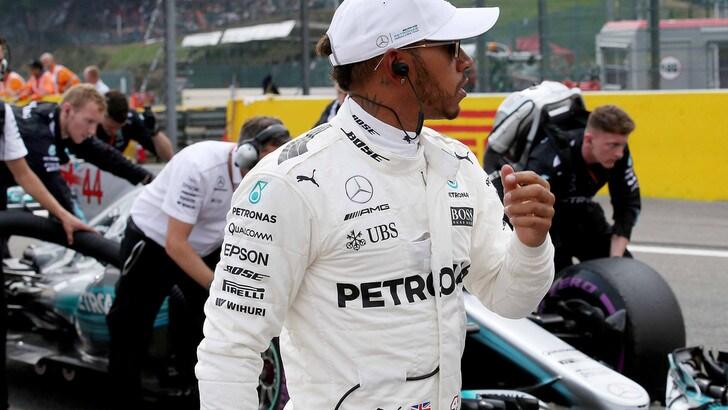F1, Hamilton vince a Spa: mondiale a 1,60, Vettel insegue a 2,25
