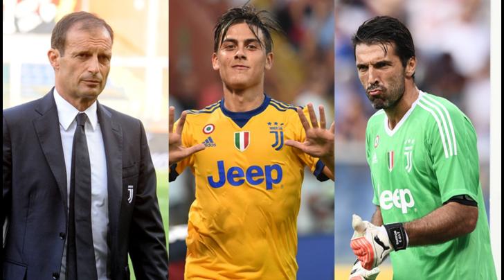 """Buffon e Dybala in lizza per il FIFA """"The Best"""", Allegri tra gli alenatori"""