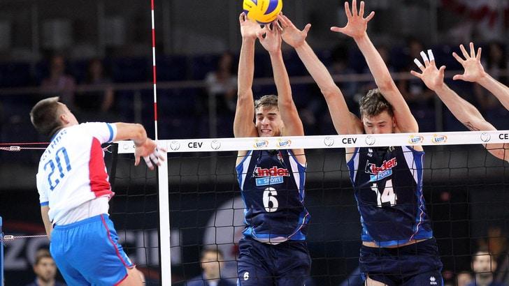 Europei volley: Belgio-Italia, gli azzurri vedono la semifinale