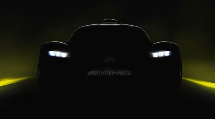 Mercedes Amg Project One, 1000 cv al Salone di Francoforte