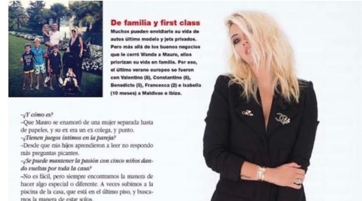 Inter, Wanda Nara: «Icardi? Era un ex collega di Maxi e io ero separata»