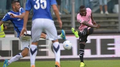 Serie B Brescia-Palermo 0-0: Embalo e Machin sbattono contro i pali