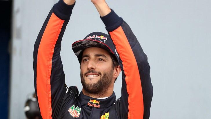 F1 Red Bull, Ricciardo: «Sono contento della gara»