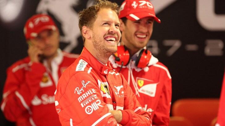 F1, Vettel ai tifosi: «Arriveremo, voi siete i migliori»