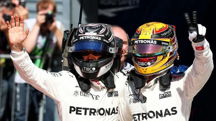 F1 Mercedes, Bottas: «Velocità incredibile»