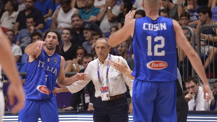 Europei Basket: Italia-Germania, a 1,55 il riscatto azzurro