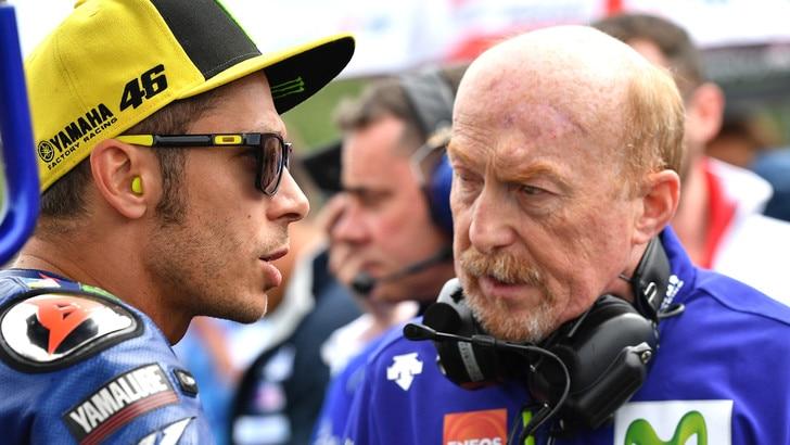 MotoGp, Jarvis: «Nulla da rimproverare a Rossi per l'infortunio»