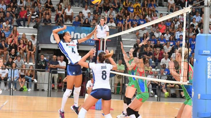 La Nazionale femminile batte l'Azerbaijan. Si infortuna Malinov