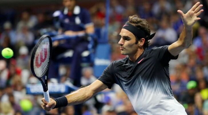 Us Open, Federer vince sul velluto: ai quarti ora c'è l'eroico Del Potro