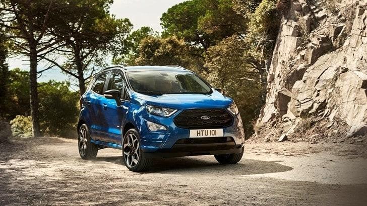 Ford EcoSport, il restyling debutta a Francoforte