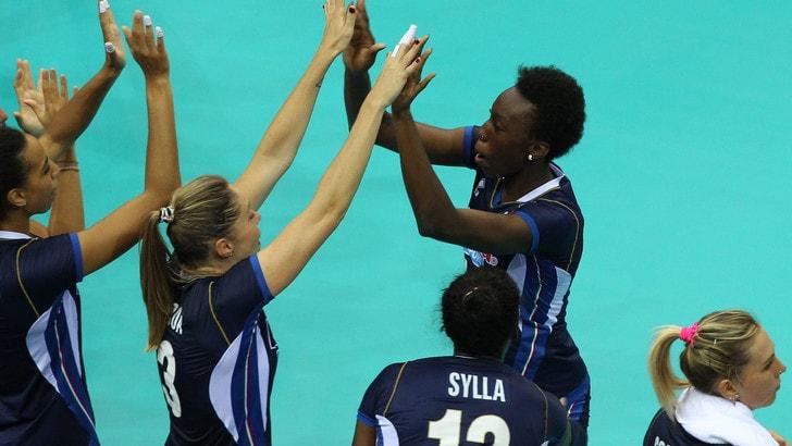 Amichevole, le azzurre lottano cinque set con l'Azerbaijan